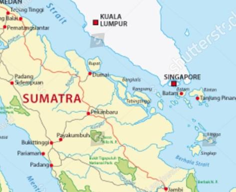 stock-vector-sumatra-road-and-national-park-map-174876929
